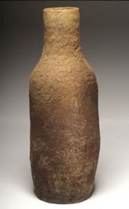 John Beckelman Tall Brown Bottle