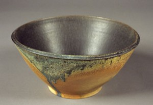 John Beckelman Bowl with Black Interior