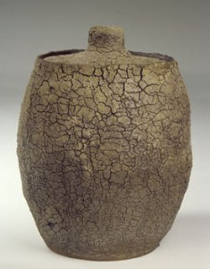 John Beckelman wide storage jar 2